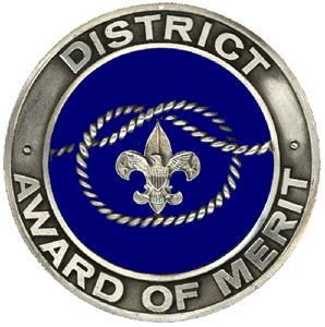 Image result for district award of merit